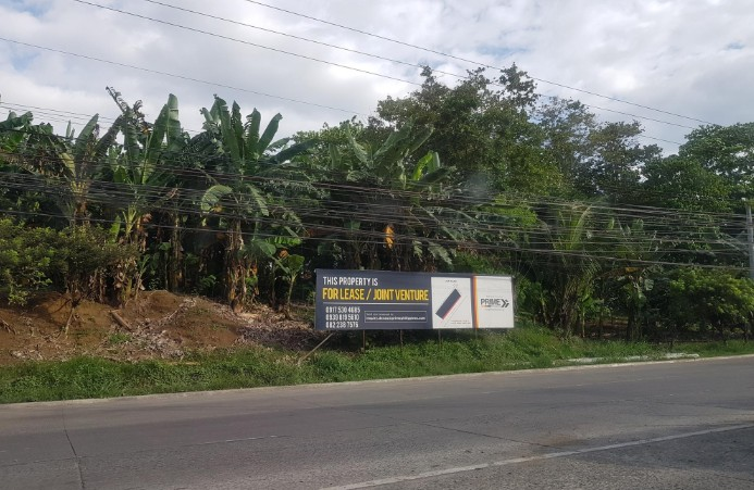 Commercial lot near Pag-ibig homes